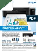 Epson L 380 ink Printer Cetaloge