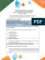 Guía de actividades y rúbrica de evaluación - Unidad 2 - Etapa 3 -  Identificación y relación de los impactos determinantes