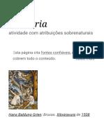 Bruxaria – Wikipédia, a enciclopédia livre