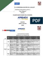 Informe 2do B  Semana del 25 al 29 Mayo Sombreros.docx