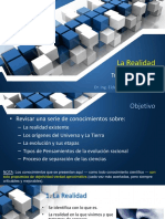 TESIS I - 2020-I - Sesion 1 - La Realidad