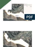 Figura 1 Muestra el área de Posible de irrigación debajo del canal entubado propuesto aproximadamente 140Has