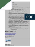 ADM PUBLICA 2014- 01