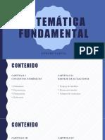 MATEMÁTICA fundamental Intro Clase 1