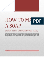 HOW TO MAKE A SOAP