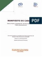 Manifiesto de Caracas-1 escuela de fiscales sobre fiscales latinoamerica