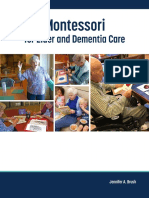 Montessori for Elder and Dementia Care (EXCERPT)