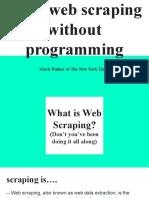 Basic Web Scraping