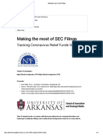 Making the Most of SEC Filings