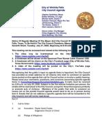 City Council Agenda 7-21-2020