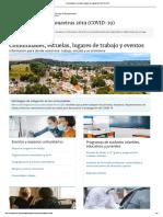 Comunidades, escuelas y lugares de trabajo _ COVID-19 _ CDC