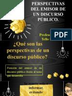 Perspectivas del emisor y secuencias textuales.pptx