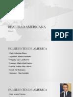 REALIDAD AMERICANA
