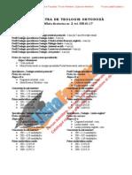 ListaFacultati.ro Subiecte Admitere Universitatea Bucuresti Teologie Ortodoxa 2002