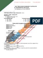 ListaFacultati.ro Subiecte Admitere Universitatea Bucuresti Teologie Romano-Catolica 2002