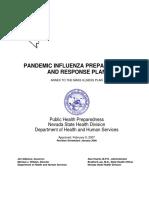 SNHD pandemic response plan from 2009