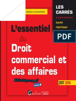 L'essentiel du Droit commercial et des affaires Ed 1 2017.pdf