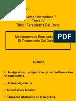 CLASE AO-7 DE FARMACOLOGÍA  II
