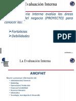 Análisis ENTORNO  Evaluación Interna