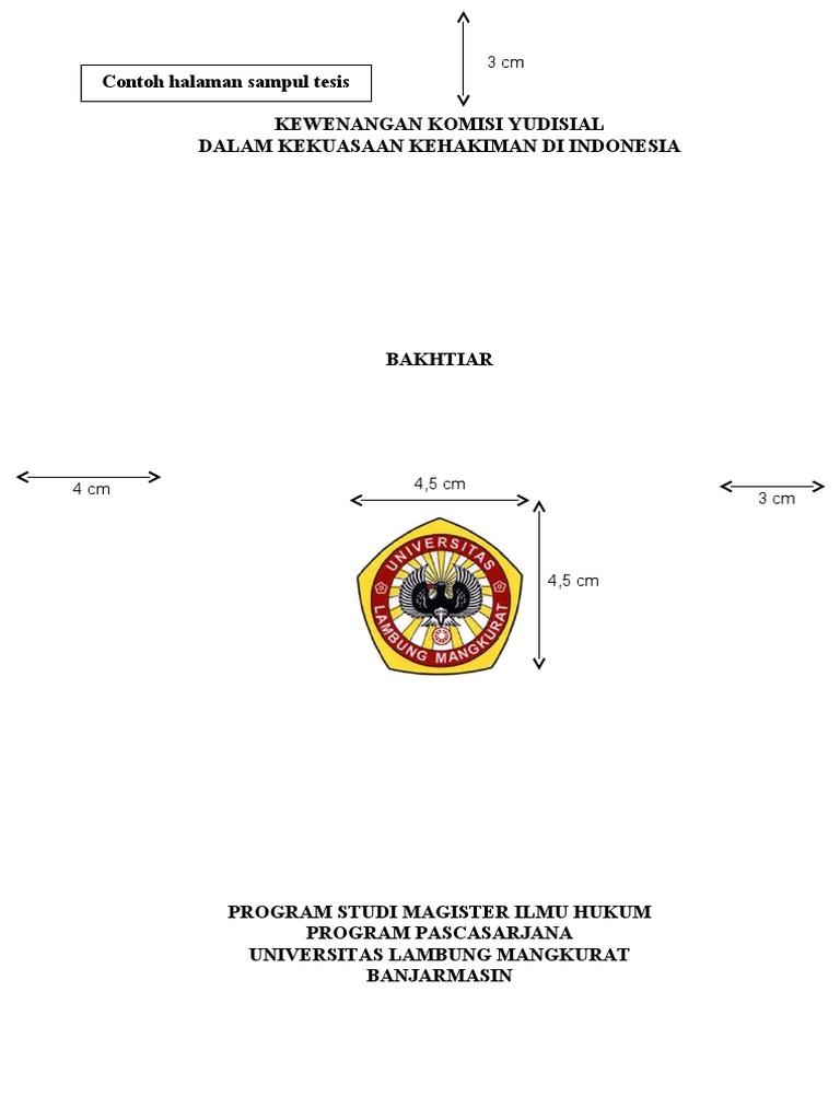 judul proposal tesis hukum