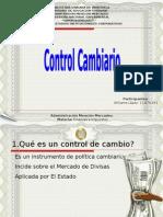 Control Cambiario