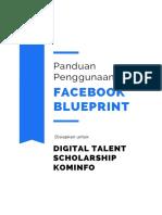 Panduan Akses Facebook Blueprint dan Tugas Peserta DE DTS 2020 - Facebook