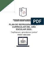 PLAN DE REPROGRAMACIÓN CURRICULAR  2020 SOPHIANUM APRENDEMOS JUNTOS.pdf