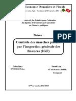 mémoire malki pdf