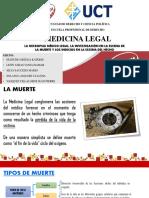 LA MUERTE MEDICINA LEGAL
