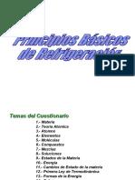 PRINCIPIOS BASICOS DE REFRIGERACION