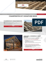 Charpente et ossature bois - Menuiserie Girard