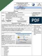 1ero INFORMÁTICA S5 APLICACIONES OFIMÁTICAS FICHA DE ACTIVIDADES