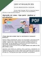 tips para padres y docentes Actualizado