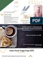 Food Safety Procedure - Ramon Hurdawaty