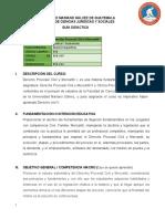 050-239 Derecho Procesal Civil y Mercantil I