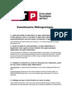 Cuestionario Hidrogeologia. 11 (1)