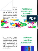 PASOS PARA LANZAR UNA CAMPAÑA PUBLICITARIA