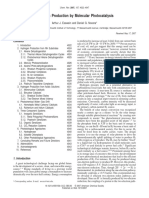 produccion de H2bymolecular phocatalysis