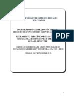 DCD CIL SUPERVISOR DE INSTALACIONES INTERNAS Y ACOMETIDAS (25) DRCO-EPNE-DRSB-19-20