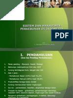 Sistem Dan Manajemen Perkebunan - 2