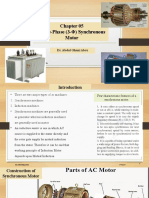 Chapter 04 Polyphase Synchronous Motor.pptx