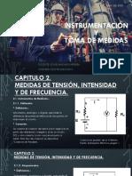 Capitulo 2 - Medidas de Tensión, Intensidad y Frecuencia