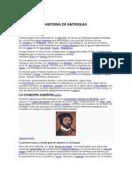 HISTORIA DE ANTIOQUIA