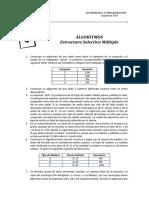 Practica Nro. 4  - Estructura Selectiva Múltiple