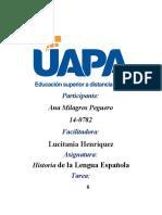 Historia de la Lengua Española 6 (1)
