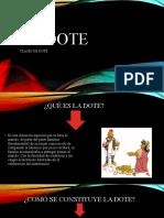 LA DOTE powerpoint.pptx