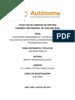 RUIZ,B. 2018 Auditoria  Gubernamental  y su relacion  con las municipalidades - TESIS.pdf