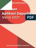 Panduan Aplikasi Dapodik V 2021