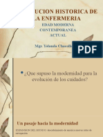 EVOLUCION HISTORICA DE LA ENFERMERIA