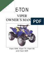 EtonViper70Manual